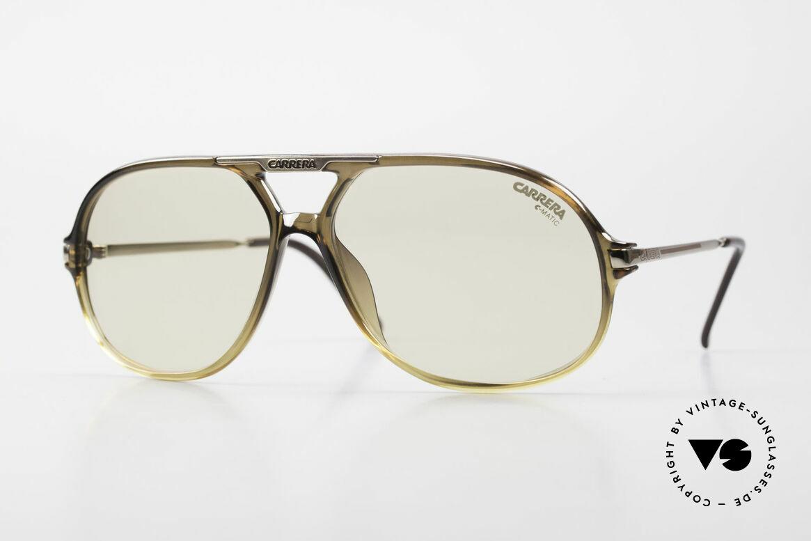 Carrera 5411 C-Matic Lenses Darken Automatically, original Carrera 5411 'Ocean' sunglasses from 1989, Made for Men