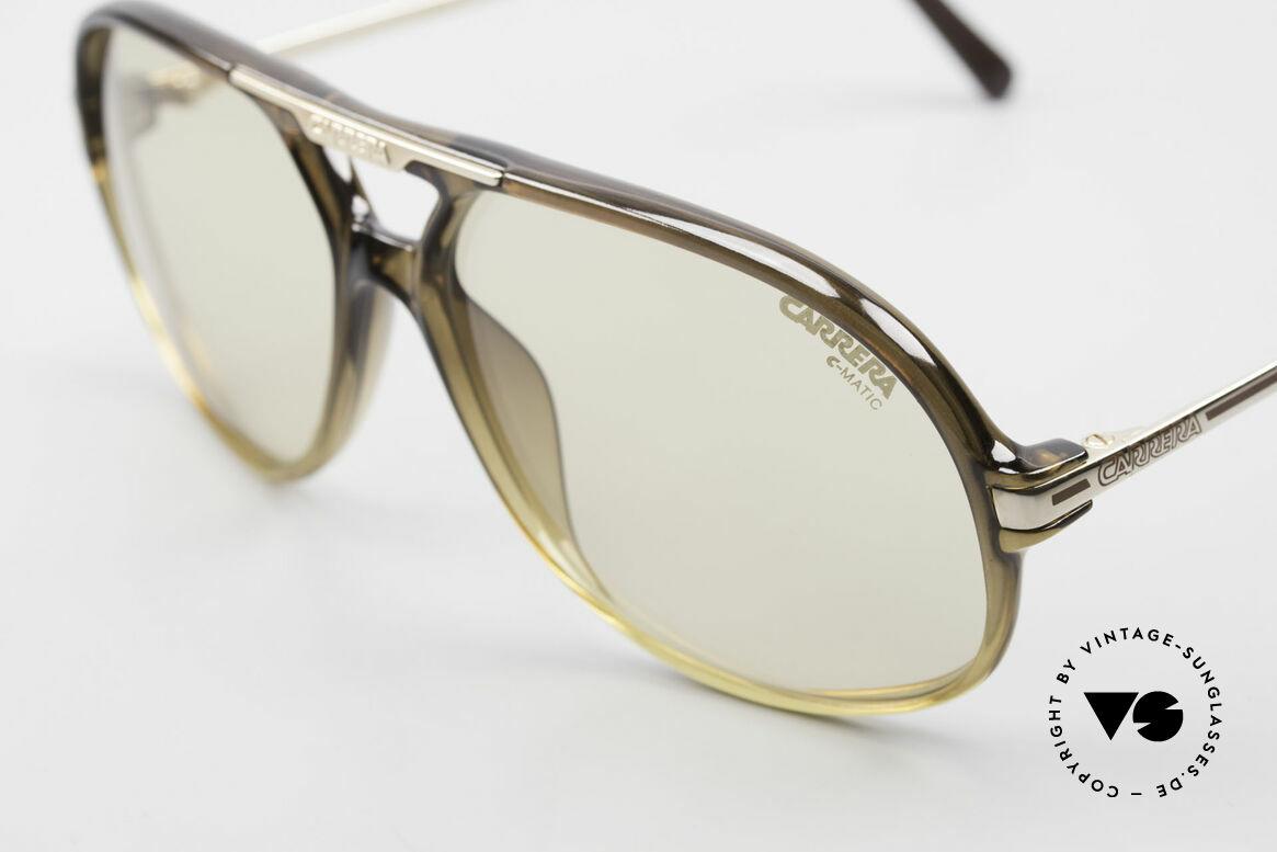 Carrera 5411 C-Matic Lenses Darken Automatically, 1x extra brown-gradient sun lenses (100% UV protect.), Made for Men