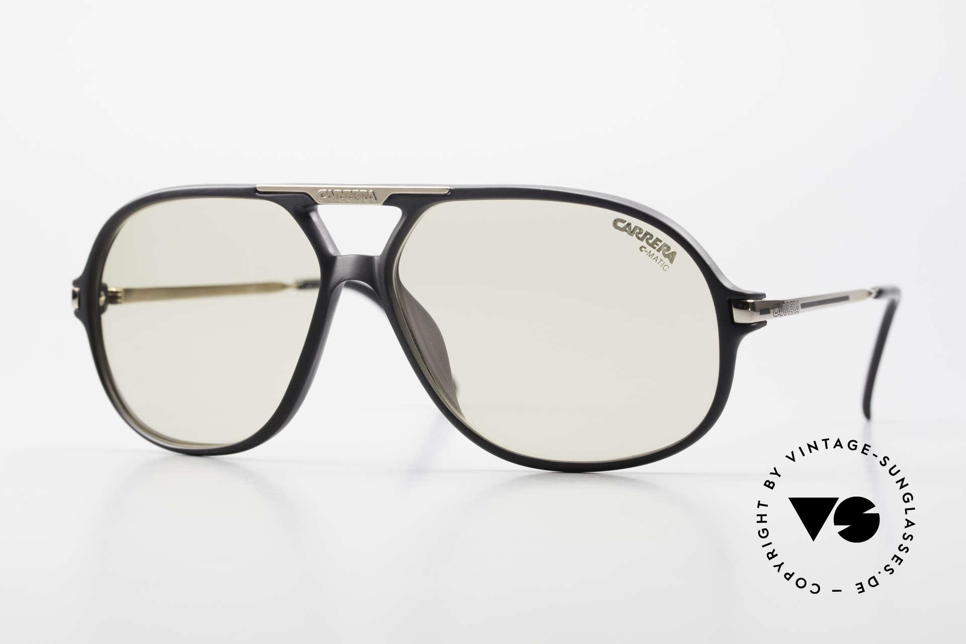 Carrera 5411 C-Matic With Extra Polarized Lenses, original Carrera 5411 'Ocean' sunglasses from 1989, Made for Men