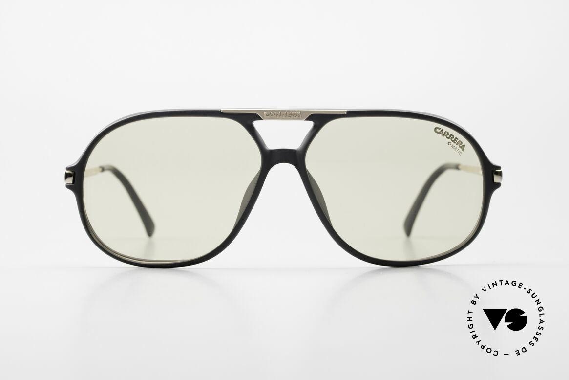 "Carrera 5411 C-Matic With Extra Polarized Lenses, brilliant photochromic ""C-MATIC"" lenses (darkening), Made for Men"