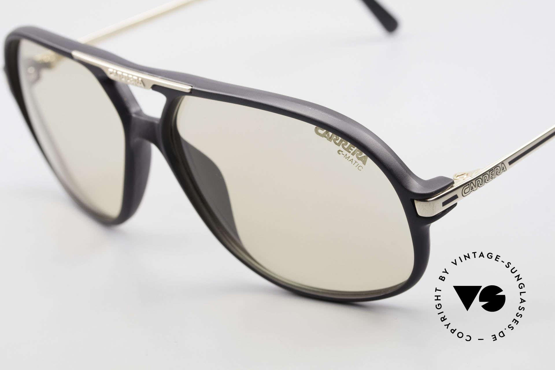 Carrera 5411 C-Matic With Extra Polarized Lenses, 1x extra gray POLARIZED lenses (100% UV protect.), Made for Men