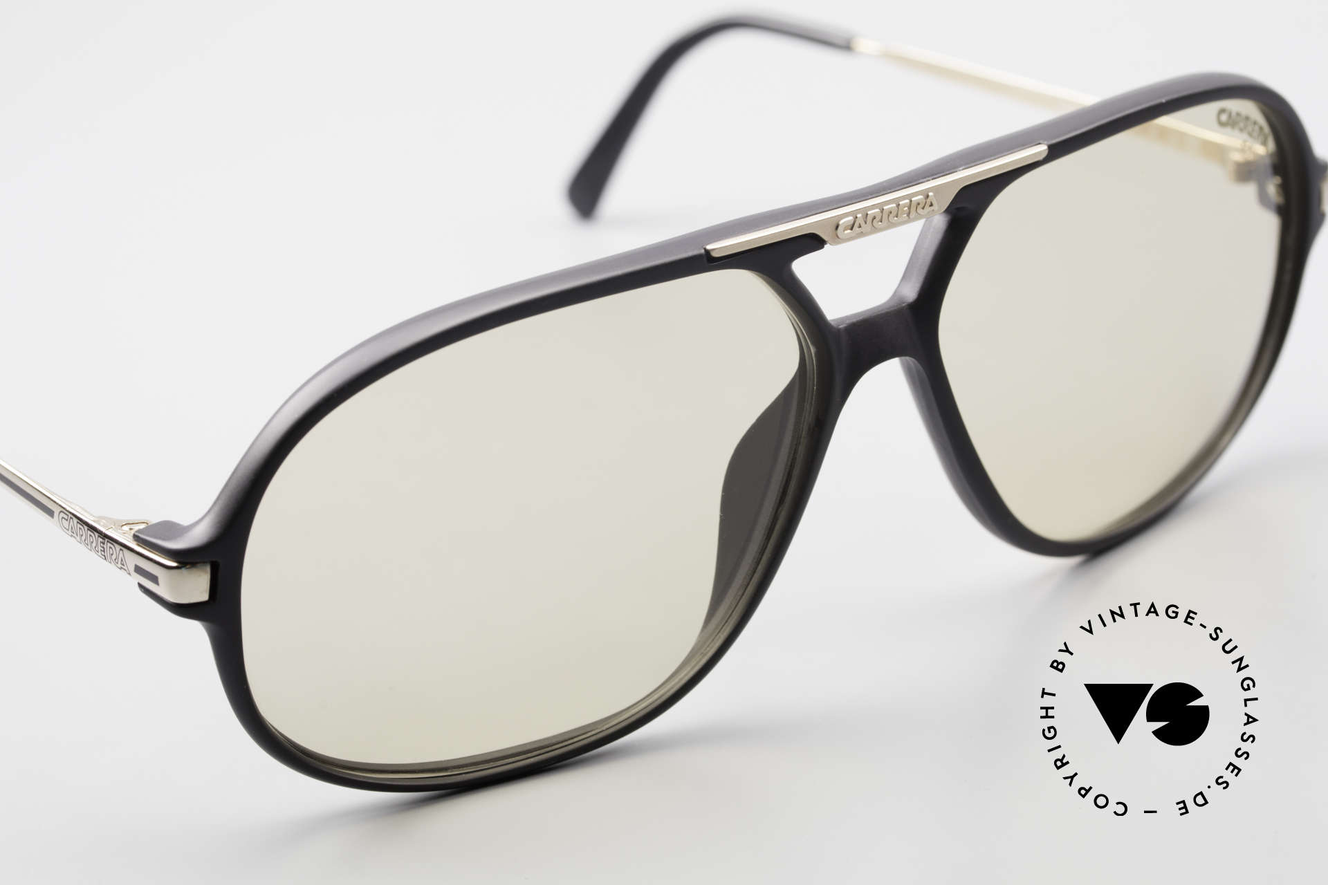Carrera 5411 C-Matic With Extra Polarized Lenses, unworn rarity - single and true VINTAGE commodity, Made for Men
