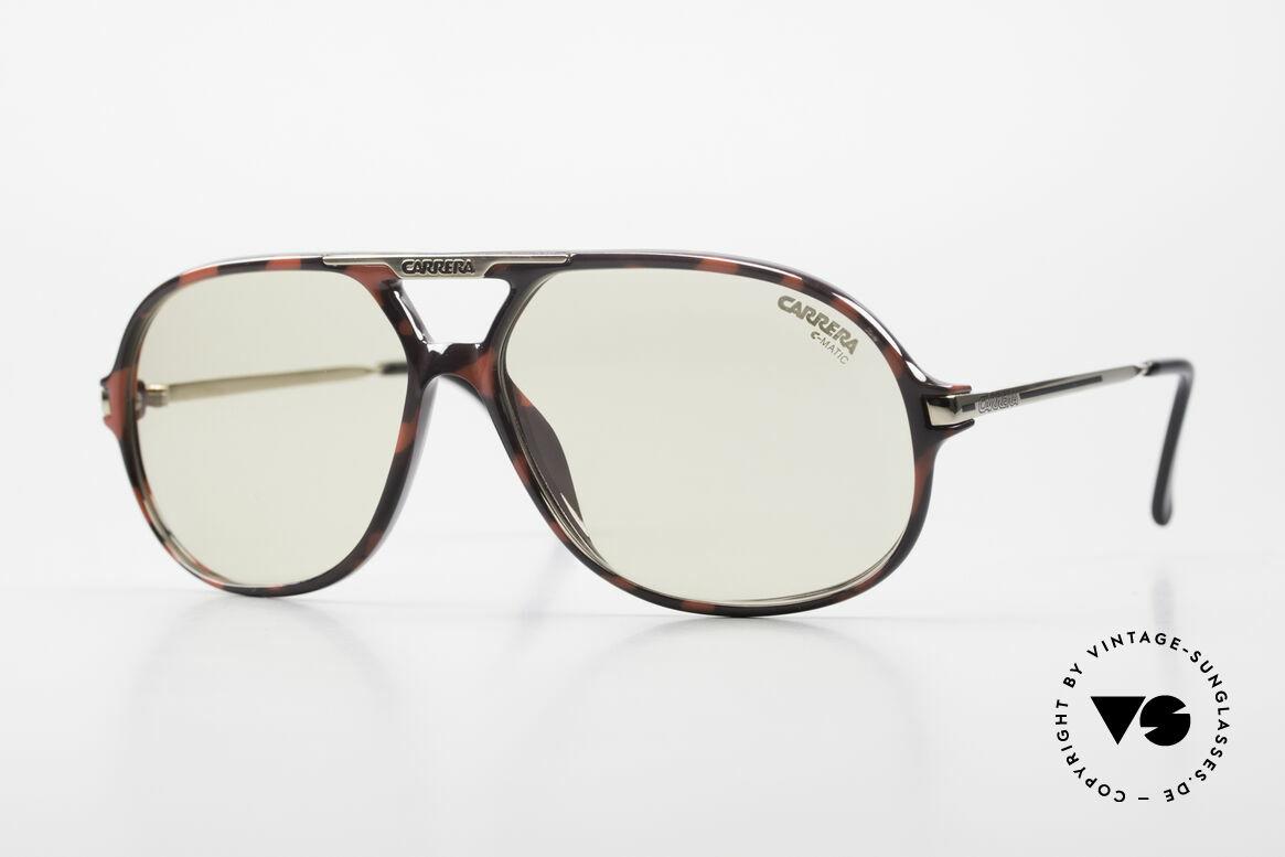 Carrera 5411 C-Matic Photochromic Automatic Lens, original Carrera 5411 'Ocean' sunglasses from 1989, Made for Men