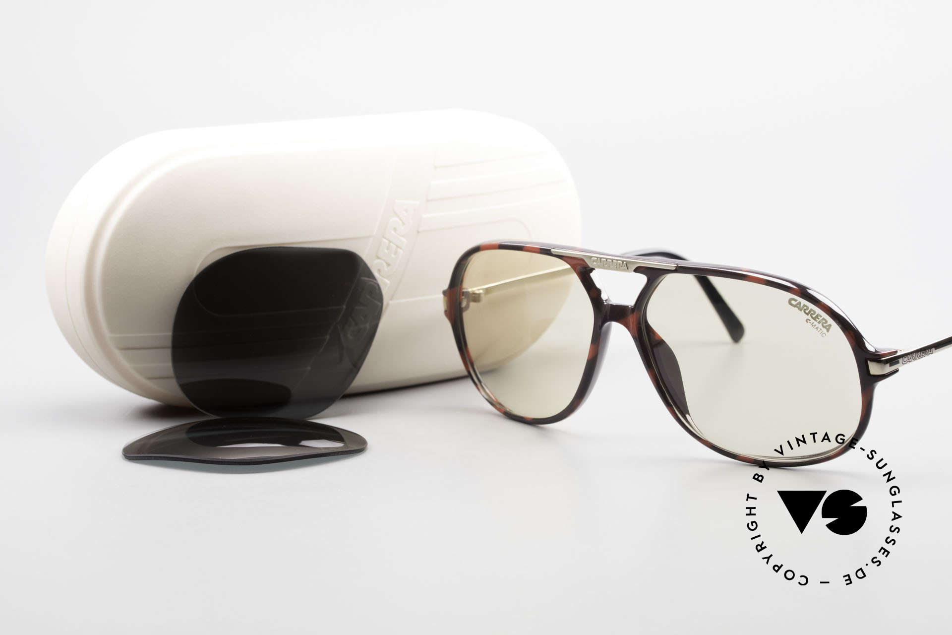 Carrera 5411 C-Matic Photochromic Automatic Lens, NO RETRO sunglasses, but a 30 years old ORIGINAL!, Made for Men