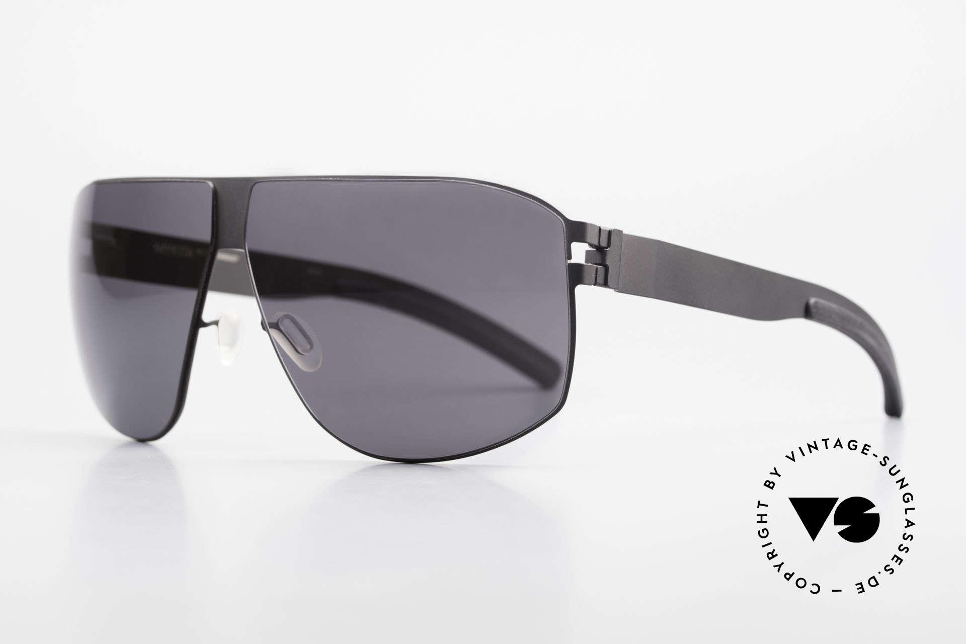 Mykita Terrence Vintage Mykita Sunglasses 2011, Model No.1 Sun Terrence Black, black-solid, size 66/08, Made for Men