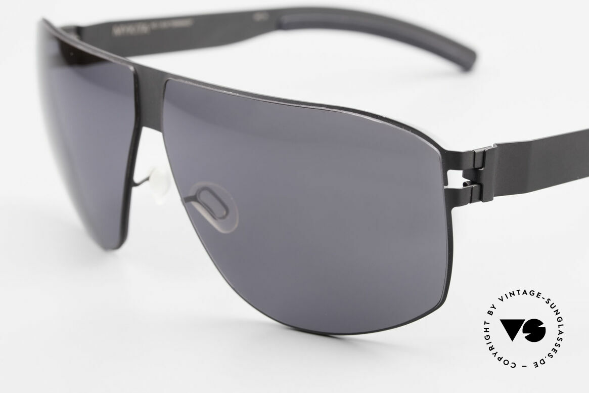 Mykita Terrence Vintage Mykita Sunglasses 2011, innovative and flexible metal frame in Large to XL size, Made for Men
