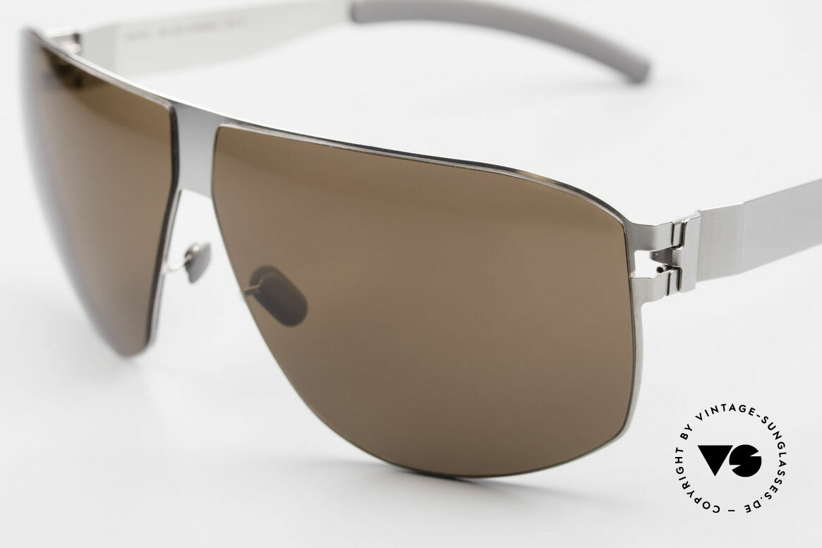 Mykita Terrence Mykita Vintage Sunglasses 2011, innovative and flexible metal frame in Large to XL size, Made for Men