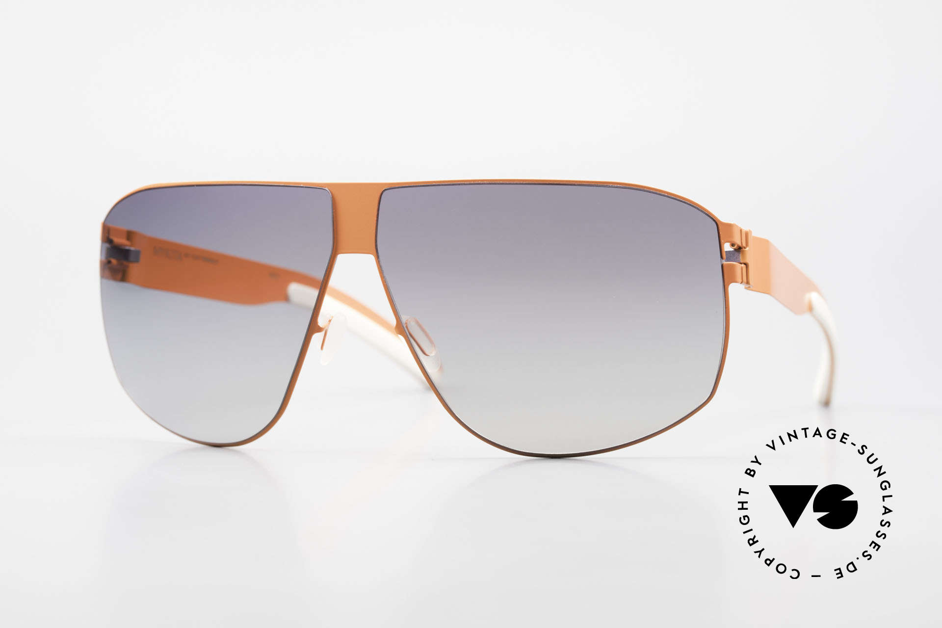 Mykita Terrence Mykita Shades Neonorange, original VINTAGE MYKITA men's sunglasses from 2011, Made for Men