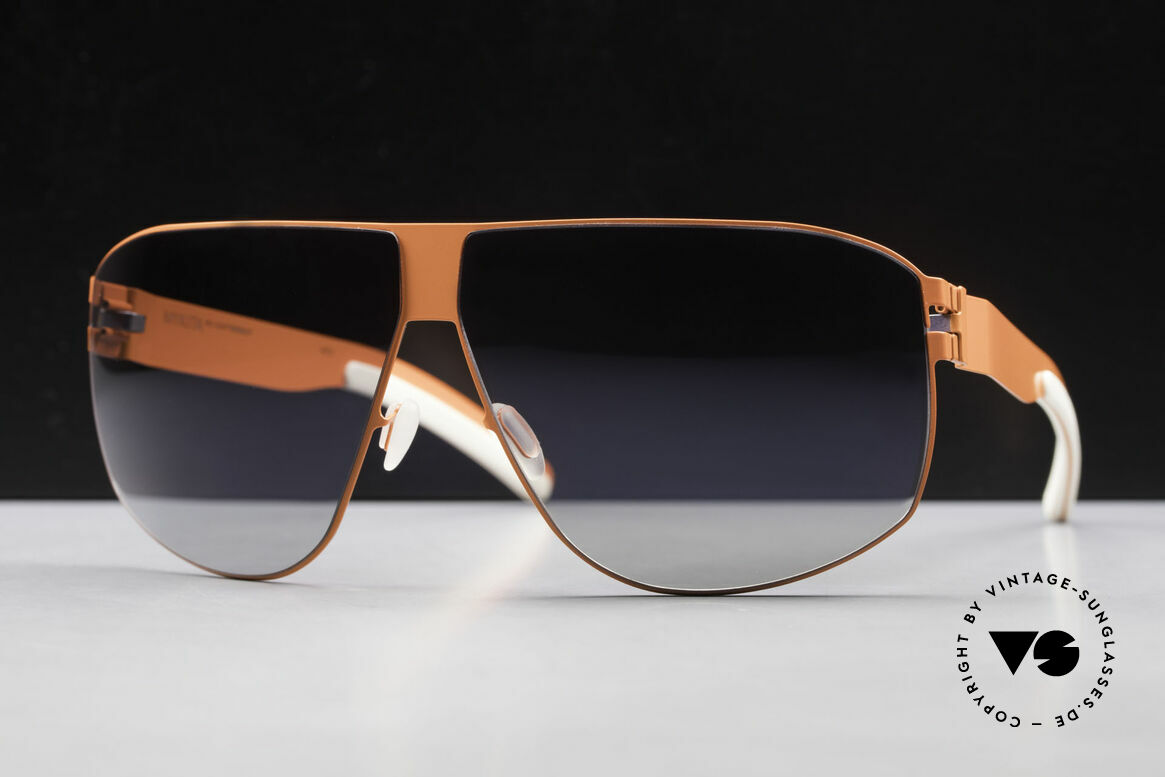 Mykita Terrence Mykita Shades Neonorange, No.1 Sun Terrence Neonorange, black-gradient, 66/08, Made for Men