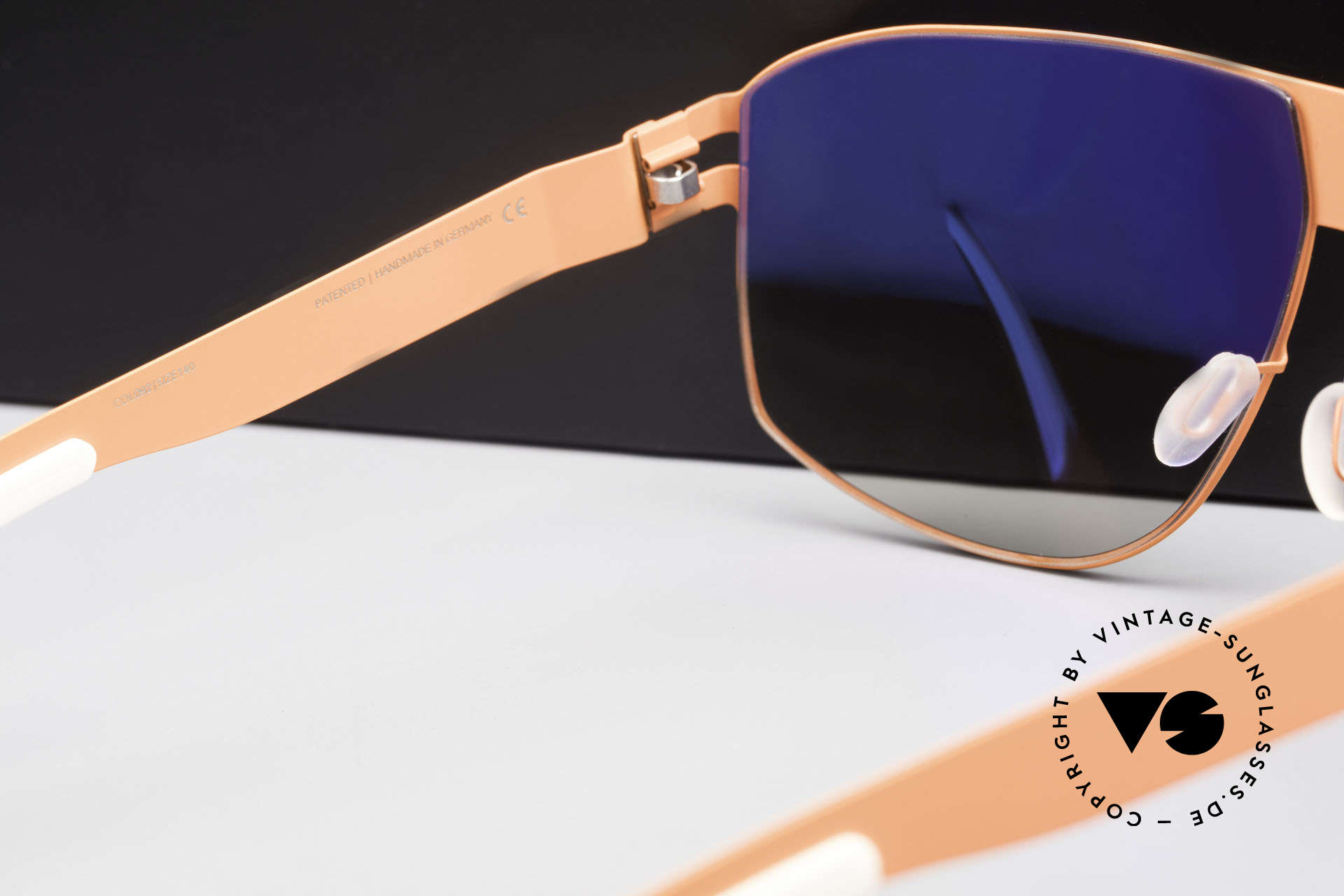 Mykita Terrence Mykita Shades Neonorange, thus, now available from us (unworn and with orig. case), Made for Men