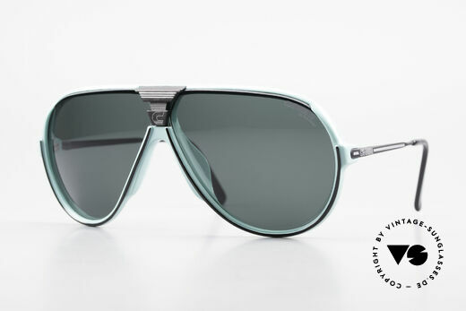 Carrera 5593 80's Sports Sunglasses Aviator Details