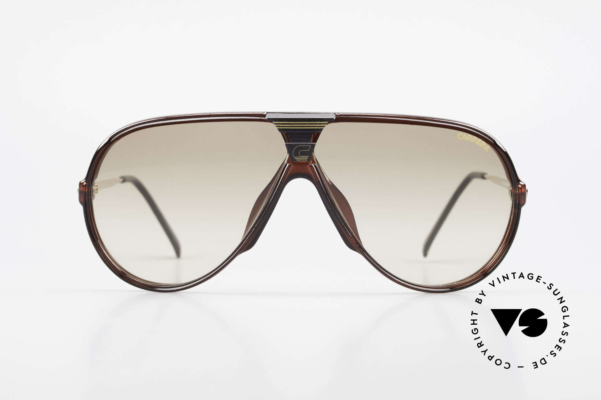 Carrera 5593 80's Aviator Sports Sunglasses, lightweight synthetic frame = OPTYL material!, Made for Men