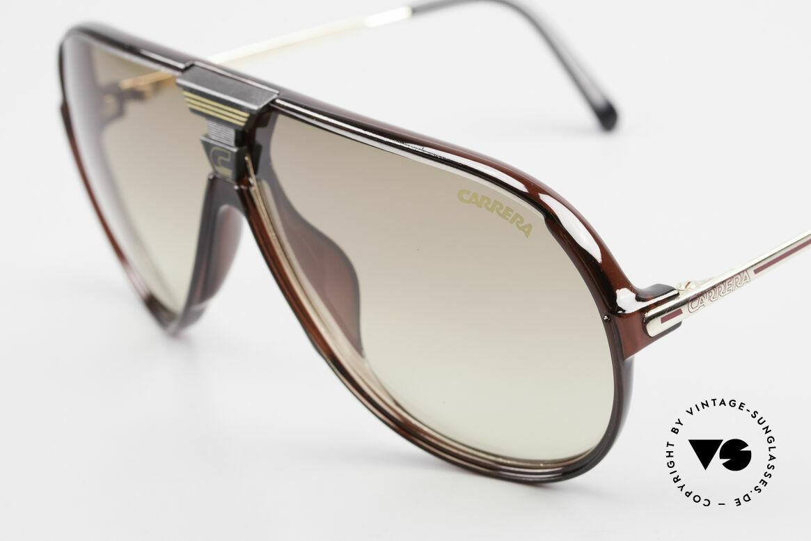 Carrera 5593 80's Aviator Sports Sunglasses, 1x brown-gradient & 1x brown mirrored, 100% UV, Made for Men