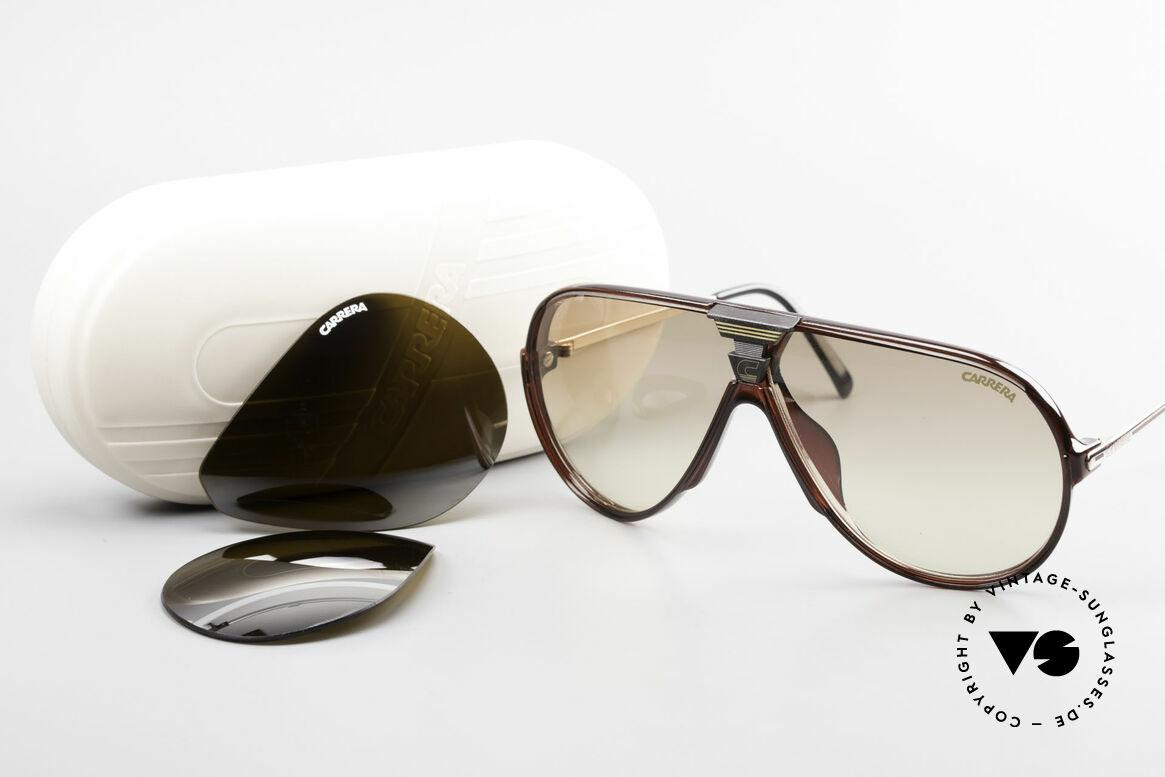 Carrera 5593 80's Aviator Sports Sunglasses, NO RETRO sunglasses; a rare vintage ORIGINAL!, Made for Men