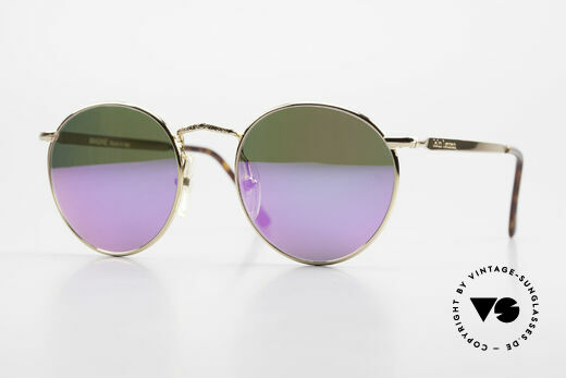 John Lennon - Imagine With Pink Mirrored Sun Lenses Details