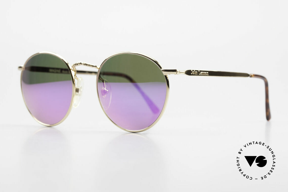 John Lennon - Imagine With Pink Mirrored Sun Lenses, all models named after famous J.Lennon / Beatles songs, Made for Men and Women
