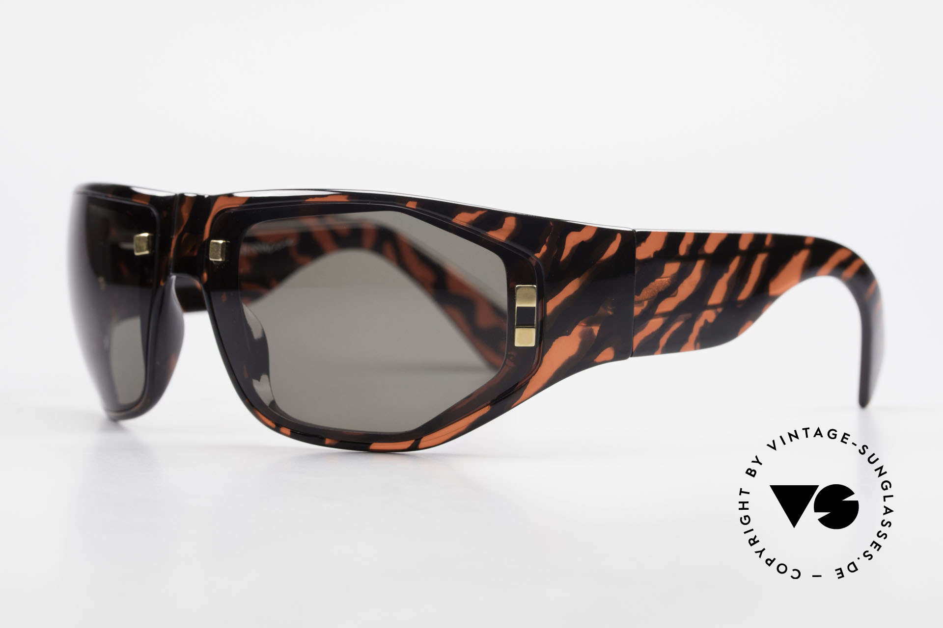 Paloma Picasso 3701 90's Wrap Sunglasses Ladies, just another masterwork from Picasso's art school!, Made for Women