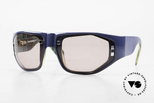 Paloma Picasso 3701 Wrap Around Sunglasses Ladies Details