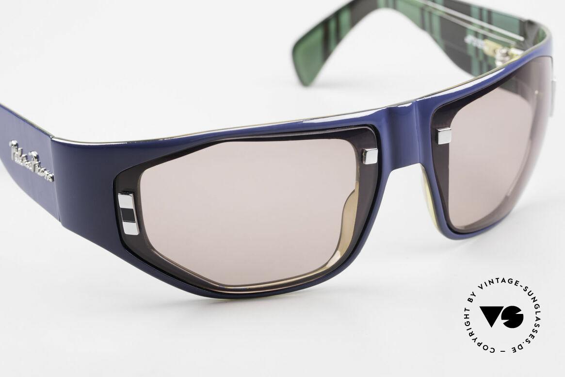 Paloma Picasso 3701 Wrap Around Sunglasses Ladies, wrap around shades: the frame wraps the face round, Made for Women