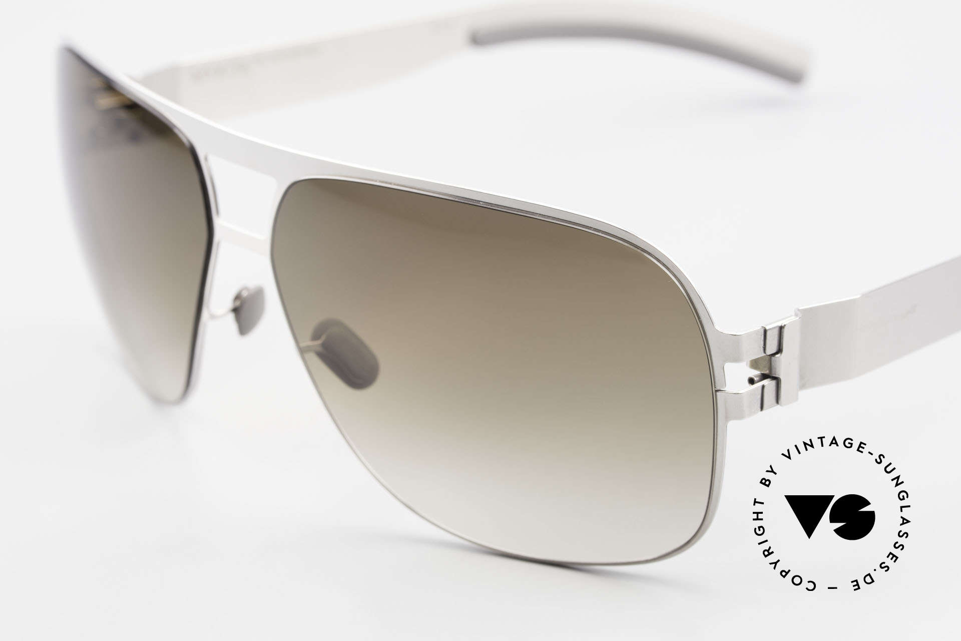 Mykita Clifford 2000's Vintage Aviator Shades, innovative and flexible metal frame = One size fits all!, Made for Men