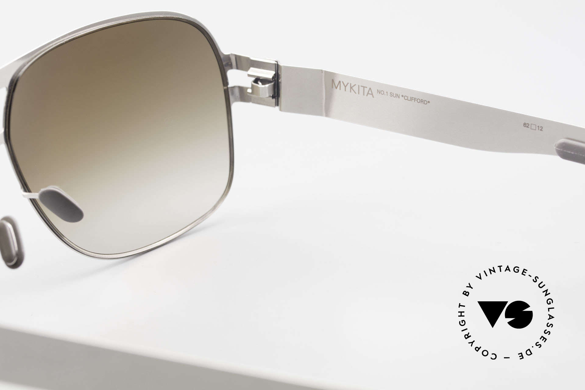 Mykita Clifford 2000's Vintage Aviator Shades, thus, now available from us (unworn and with orig. case), Made for Men