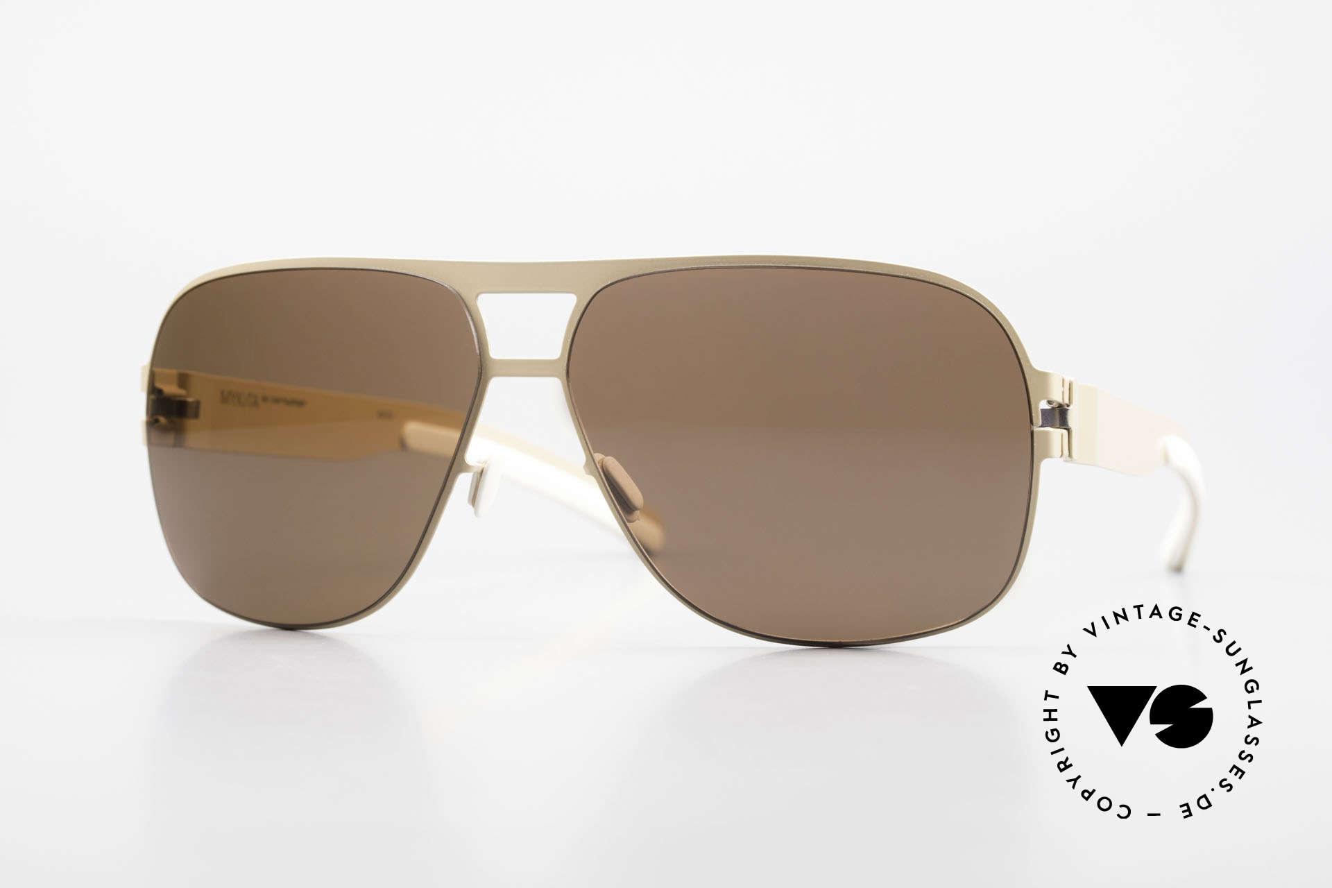 Mykita Clifford 2000's Aviator Vintage Shades, original VINTAGE MYKITA men's sunglasses from 2011, Made for Men