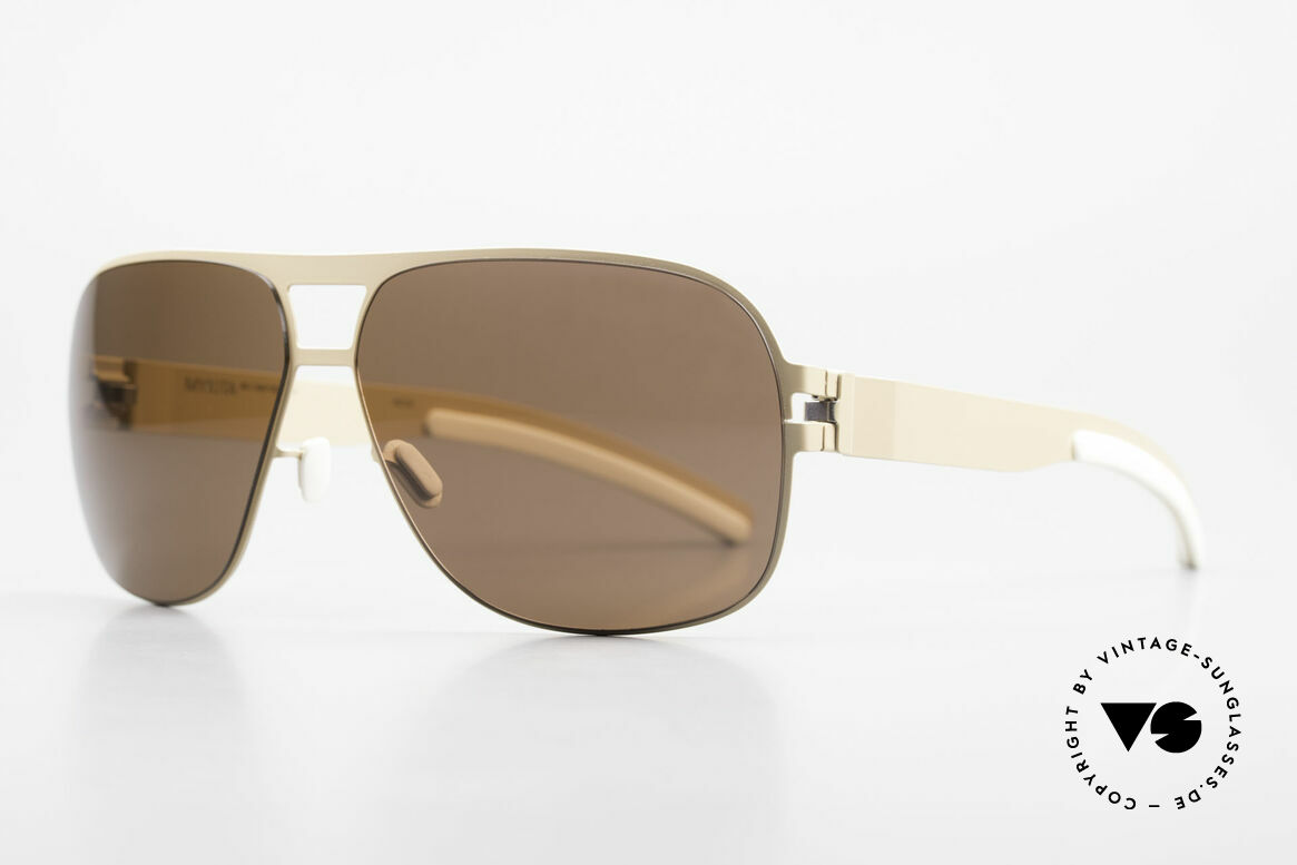 Mykita Clifford 2000's Aviator Vintage Shades, innovative and flexible metal frame = One size fits all!, Made for Men