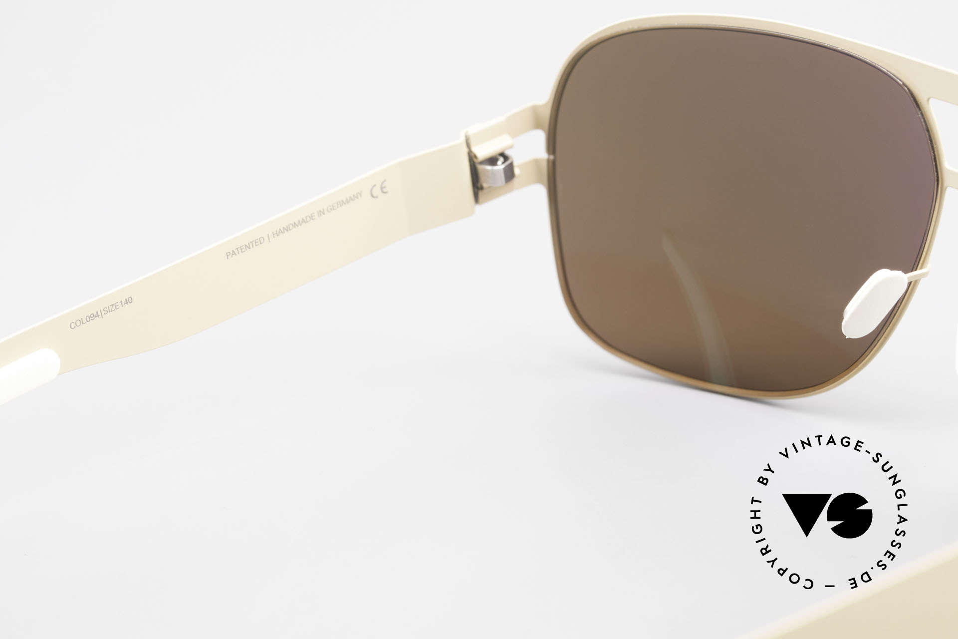 Mykita Clifford 2000's Aviator Vintage Shades, thus, now available from us (unworn and with orig. case), Made for Men