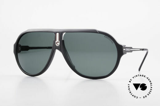 Carrera 5565 Old 1980's Vintage Sunglasses Details