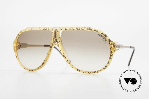 Carrera 5565 Old 1980's Sunglasses Vintage Details
