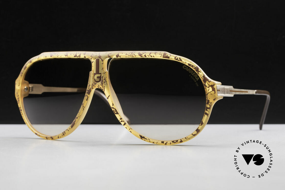 Carrera 5565 Old 1980's Sunglasses Vintage, everlasting Optyl-frame still shines like just produced, Made for Men and Women