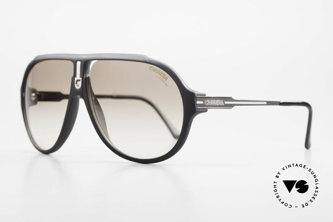 Carrera 5565 Old Sunglasses 1980's Vintage, everlasting Optyl-frame still shines like just produced, Made for Men and Women