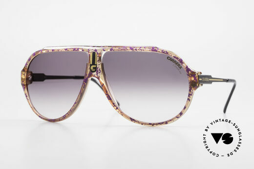Carrera 5565 Old Vintage 1980's Sunglasses Details