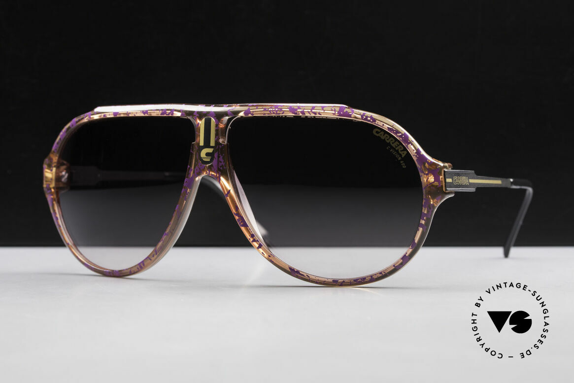 Carrera 5565 Old Vintage 1980's Sunglasses, everlasting Optyl-frame still shines like just produced, Made for Men and Women