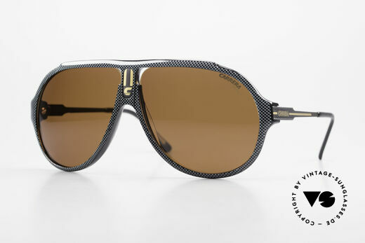 Carrera 5565 Old Vintage Sunglasses 1980's Details