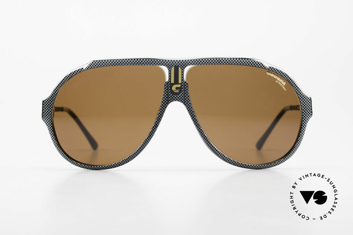 Carrera 5565 Old Vintage Sunglasses 1980's, similar to the famous Carrera 'mod. 5512' (Miami Vice), Made for Men and Women