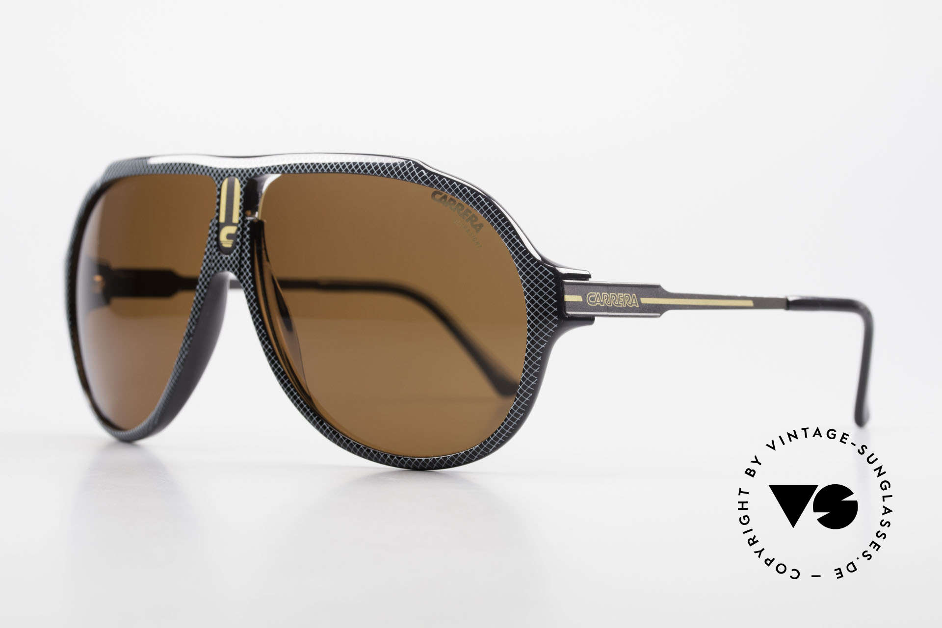 Carrera 5565 Old Vintage Sunglasses 1980's, everlasting Optyl-frame still shines like just produced, Made for Men and Women