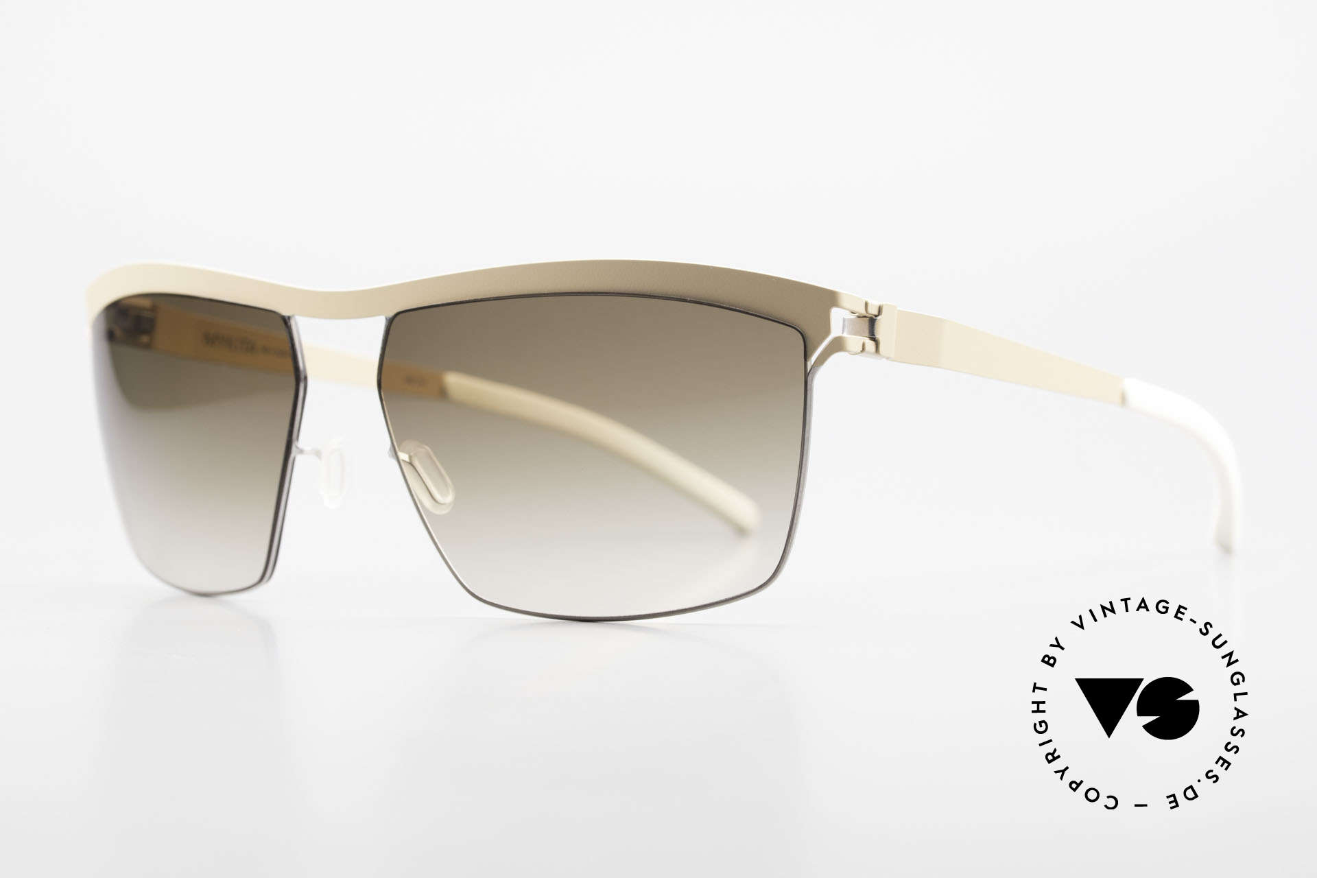 Mykita Tiago Designer Sunglasses Unisex, innovative and flexible metal frame = One size fits all!, Made for Men and Women