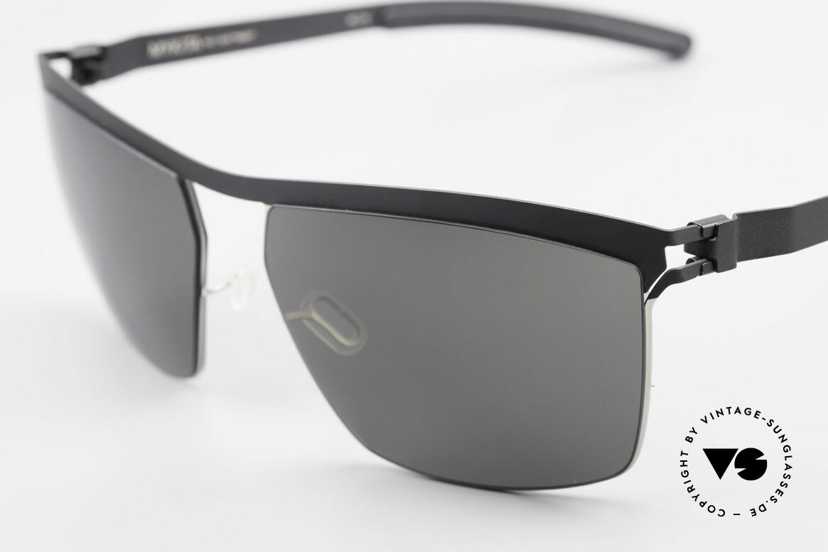 Mykita Tiago Designer Unisex Sunglasses, innovative and flexible metal frame = One size fits all!, Made for Men and Women
