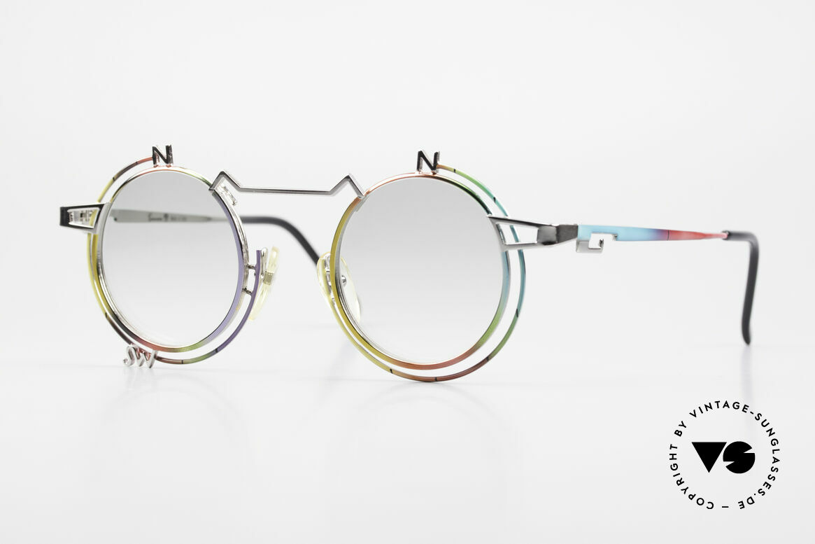 Casanova SC6 Simbolismo Orientation, vintage 'art glasses' by Casanova from the mid. 1980's, Made for Men and Women