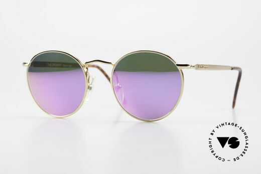 John Lennon - The Dreamer With Pink Mirrored Sun Lenses Details
