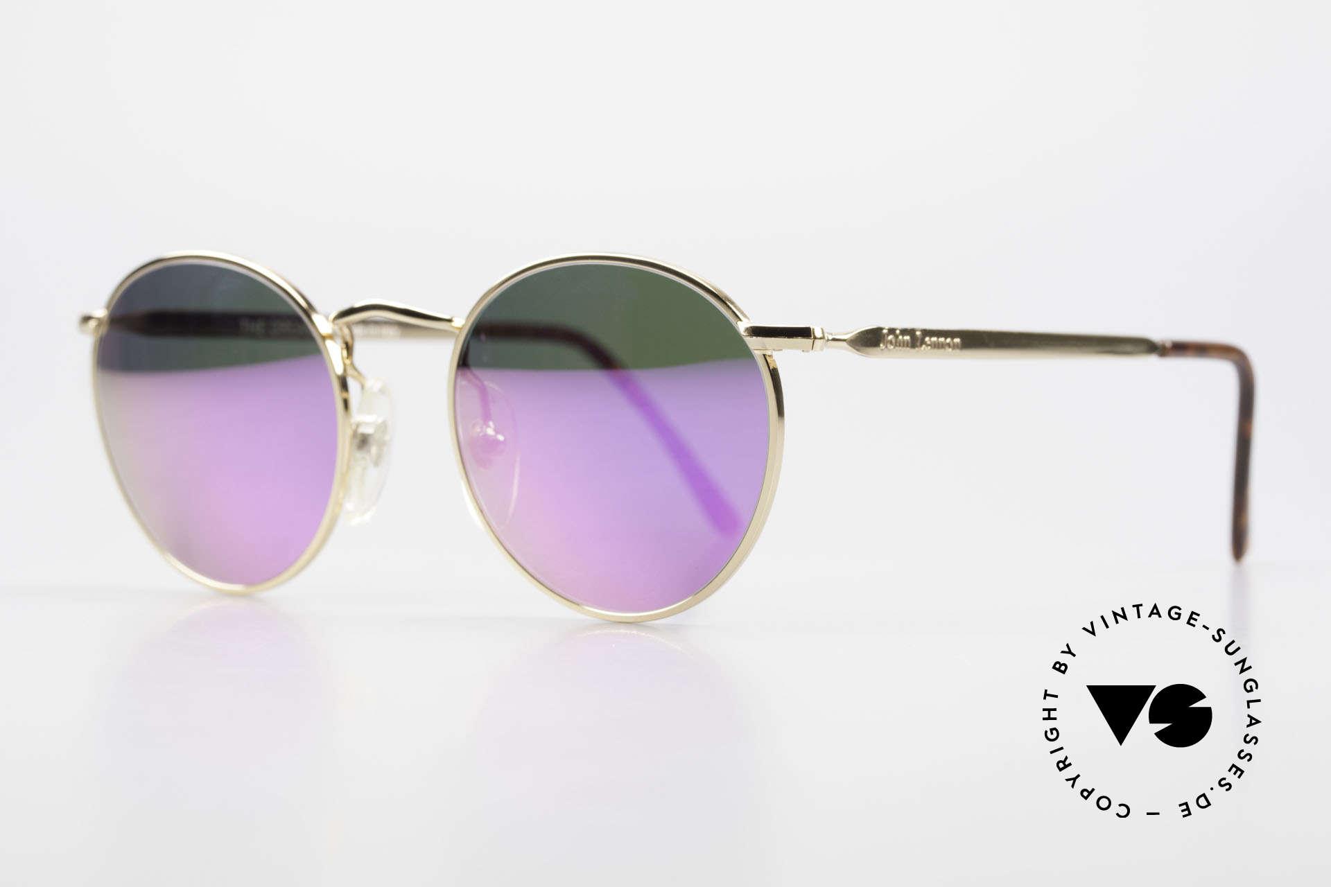 John Lennon - The Dreamer With Pink Mirrored Sun Lenses, all models named after famous J.Lennon / Beatles songs, Made for Men and Women