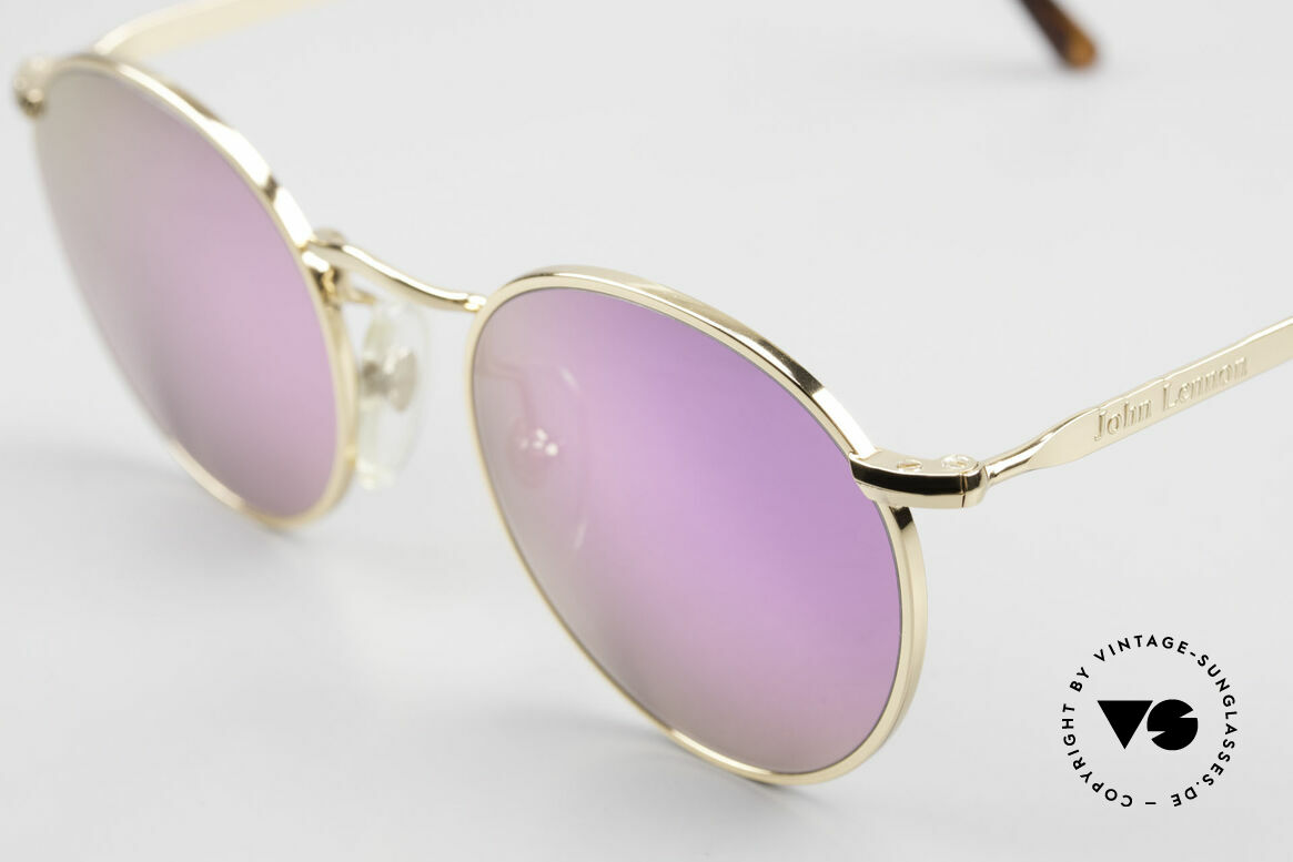 John Lennon - The Dreamer With Pink Mirrored Sun Lenses, pink lenses: so, you can see the world thru pink glasses!, Made for Men and Women