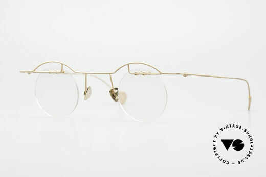 Paul Chiol 02 Bauhaus Eyeglasses Rimless Details