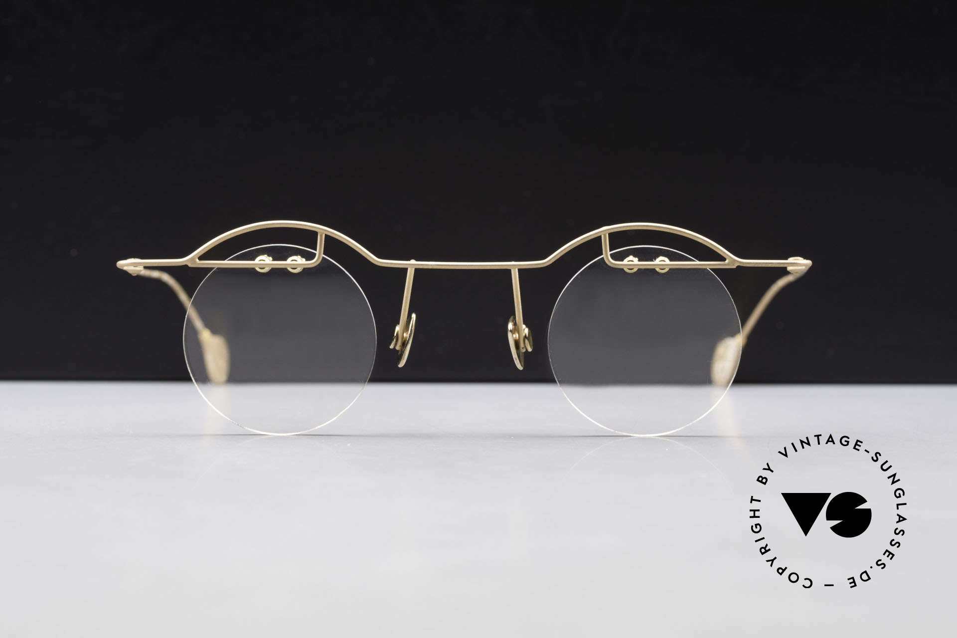 Paul Chiol 02 Bauhaus Eyeglasses Rimless, exclusively top-notch frame components; high-end, Made for Men and Women