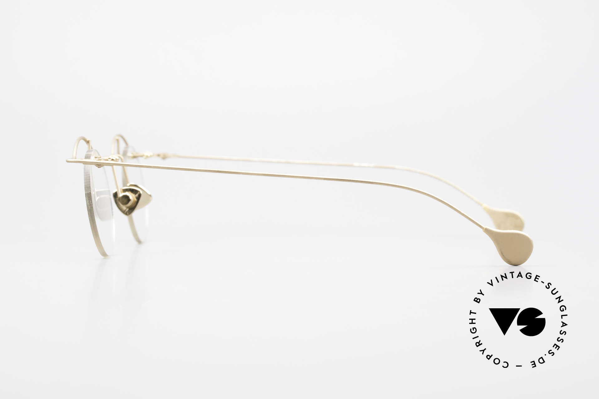Paul Chiol 02 Bauhaus Eyeglasses Rimless, the frame (Bauhaus style) can be glazed optionally, Made for Men and Women