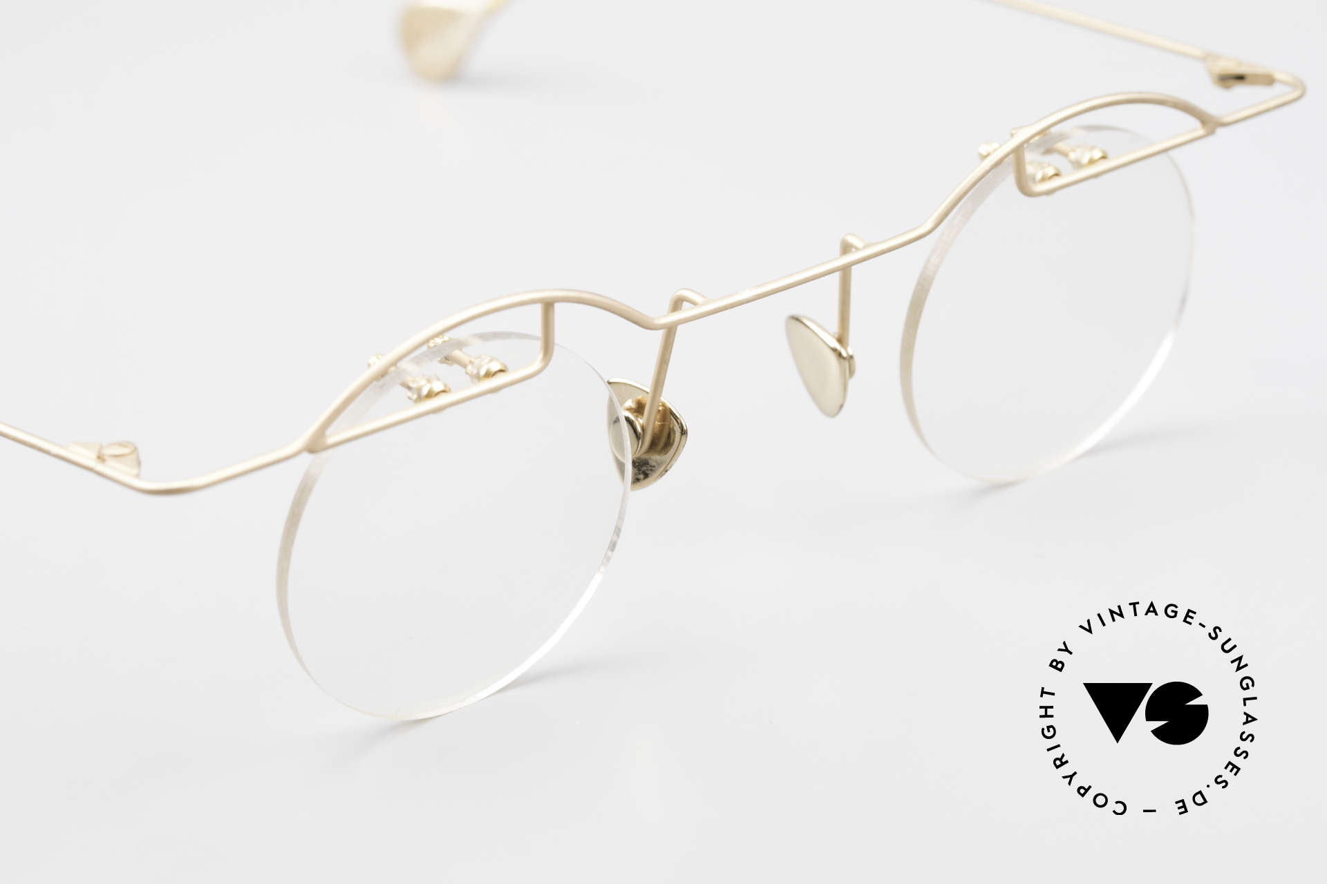 Paul Chiol 02 Bauhaus Eyeglasses Rimless, Size: small, Made for Men and Women