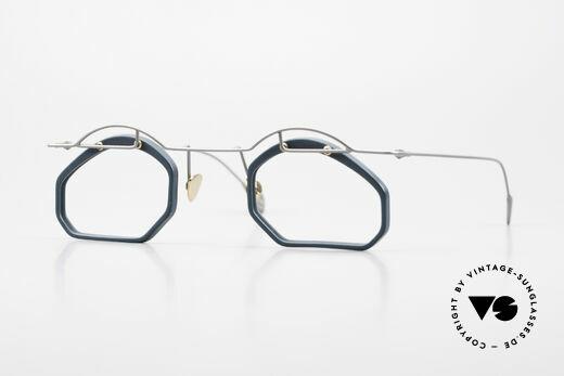 Paul Chiol 12 Art Designer Glasses Vintage Details