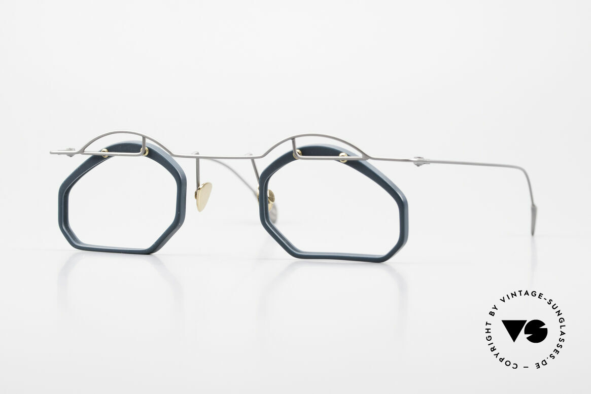 Paul Chiol 12 Art Designer Glasses Vintage, vintage 90's Paul CHIOL designer eyeglass-frame, Made for Men and Women