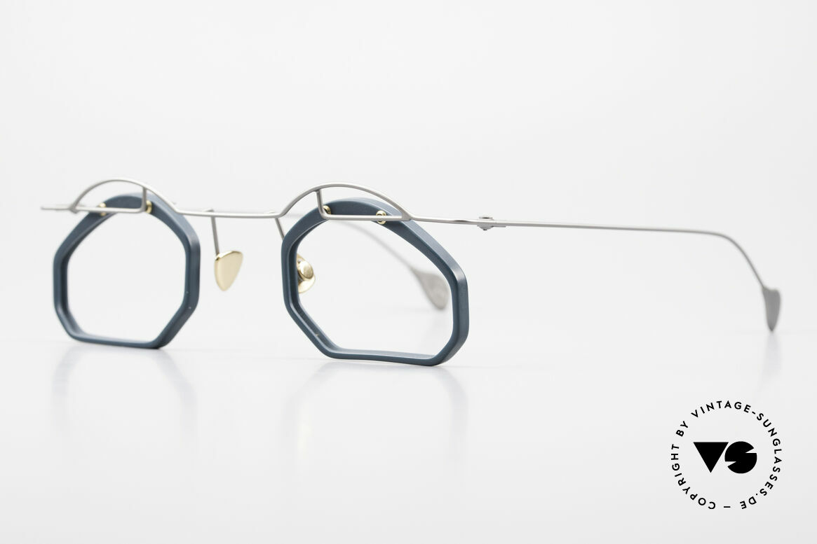 Paul Chiol 12 Art Designer Glasses Vintage, filigree and cleverly devised design; simply chichi, Made for Men and Women